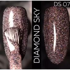 Гель лак Светоотражающий / Kodi Diamond Sky № 07 DS, 7 мл
