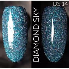 Гель лак Светоотражающий / Kodi Diamond Sky № 14 DS, 7 мл