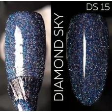 Гель лак Светоотражающий / Kodi Diamond Sky № 15 DS, 7 мл