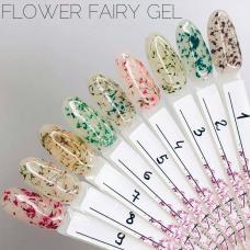 Гель SAGA Flower Fairy Gel с сухоцветами -75грн.