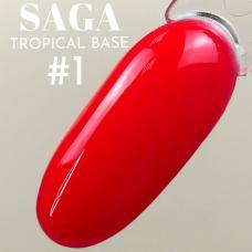 SAGA Tropical Base №1 (цветная база), 8 мл
