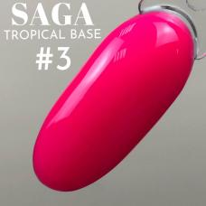 SAGA Tropical Base №3 (цветная база), 8 мл