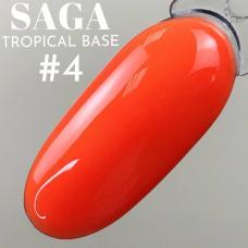 SAGA Tropical Base №4 (цветная база), 8 мл