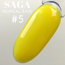 SAGA Tropical Base №5 (цветная база), 8 мл