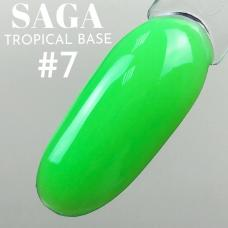 SAGA Tropical Base №7 (цветная база), 8 мл