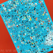 Слайдер-дизайн 2D-WW6
