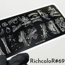 Пластина для стемпинга RR-69