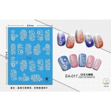3D наклейки для ногтей EA-017
