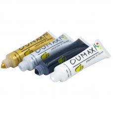 Набор акриловых красок для рисования OUMAX, 4 цвета по 12 мл