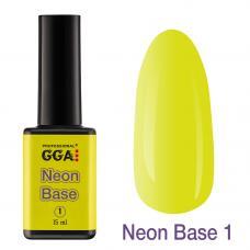Неоновая база Neon Base GGA №1, 15 мл