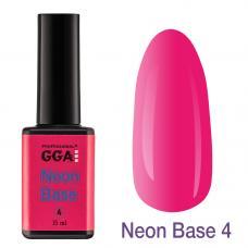 Неоновая база Neon Base GGA №4, 15 мл