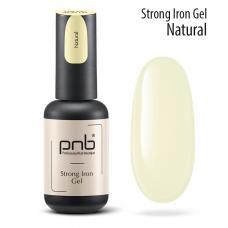 Гель-архитектор PNB Strong Iron Gel Natural,8 мл