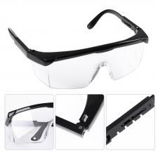 Защитные очки мастера маникюра и педикюра (черные)