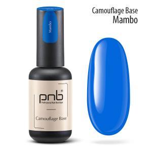 Неоновая каучуковая база PNB Camouflage Base Mambo, blue, 8 мл