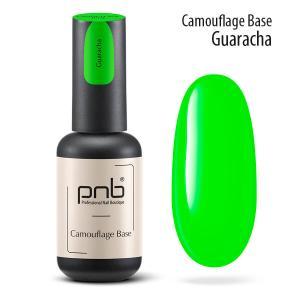 Неоновая каучуковая база PNB Camouflage Base Guaracha, green, 8 мл