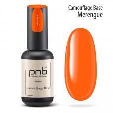 Неоновая каучуковая база PNB Camouflage Base Merengue, orange, 8 мл