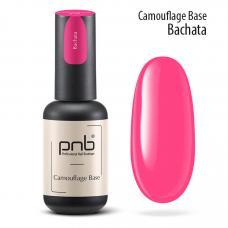 Неоновая каучуковая база PNB Camouflage Base Bachata, pink, 8 мл