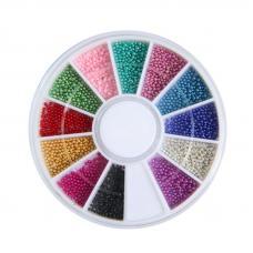Набор цветных бульонок в каруселе BVK-C