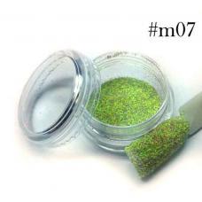 Меланж №7 (зелено-фиолетовый)