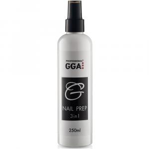 Nail Prep GGA 3-in-1 (Обезжириватель, снятие липкости, Антисептик), 250 мл